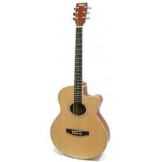 HOMAGE LF-401C N Фольковая гитара с вырезом