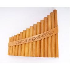 HORA Panpipe 15 alto Пан-флейта (флейта пана) 15 трубок альт g1-g3 Hora