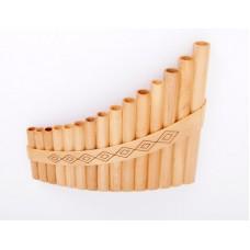 HORA Panpipe 15 Soprano Пан-флейта 15 трубок сопрано d2-d4