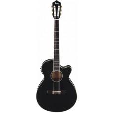 IBANEZ AEG10NII-BK гитара электроакустическая с нейлоновыми струнами