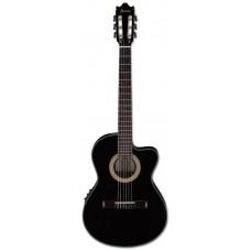 IBANEZ GA35TCE-BKN классическая гитара с подключением