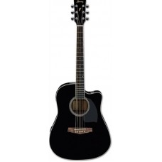 IBANEZ PF15ECE-BK - электроакустическая гитара