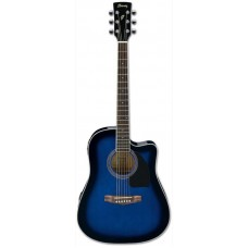 IBANEZ PF15ECE-TBS - электроакустическая гитара