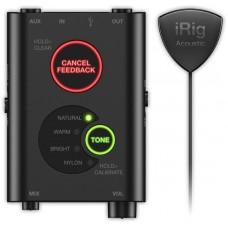 IK MULTIMEDIA iRig Acoustic Stage микрофонная система для акустической гитары/аудиоинтерфейс для iOS