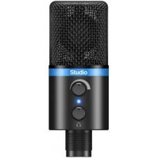 IK MULTIMEDIA iRig Mic Studio - Black компактный конденсаторный микрофон с большой диафрагмой для iO