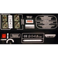 Involight FM2000DMX - генератор дыма 2000 Вт, DMX-512, проводной пульт c ЖК экраном