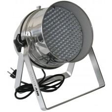 Involight LEDPAR64/AL - светодиодный RGB прожектор (хром), звуковая активация, DMX-512