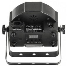 Involight SLIMPAR 1266 - Светодиодный прожектор 12x 6Вт. RGBWA/UV 6-в-1 мультичип