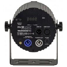 Involight SLIMPAR 412PRO- светодиодный прожектор 4 x12 Вт RGBWA/UV 6-в-1 мультичип