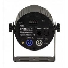 Involight SLIMPAR 612PRO- светодиодный прожектор 6 x12Вт. RGBWA/UV 6-в-1 мультичип.