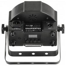 Involight SLIMPAR 766- светодиодный прожектор 7x 6 Вт RGBWA/UV 6-в-1 мультичип.