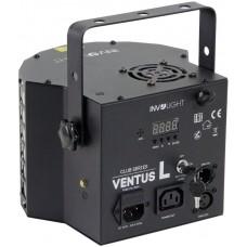 Involight Ventus L - световой эффект, 4 шт. 3 Вт RGBW, 16 шт. 0,5 Вт W, лазер 50 мВт G, 100 мВт R