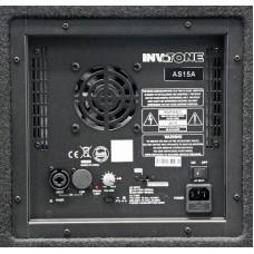 Invotone AS15A - активная 2х полос. акустическая система, 1400 Вт,54Гц-18кГц, 122 дБ SPL