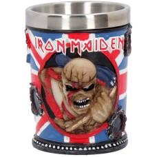 Iron Maiden Shot Glass 7cm 5.5x5.5x7 holds 50m Сувенирная рюмка Iron Maiden, лицензионная сувенирная