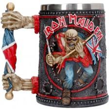 Iron Maiden Tankard 14cm 16 x 9.5 x 14.5 holds 600ml Сувенирная кружка Iron Maiden, лицензионная