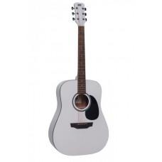JET JD-257 WHS - Акустическая гитара, белая