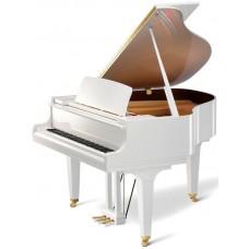 Kawai GL-10 WH/P кабинетный рояль, длина 153см, белый полированный