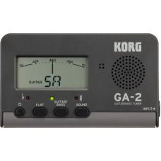 KORG GA-2 цифровой тюнер для гитары/бас-гитары