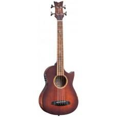 ORTEGA KT-WALKER-V2 Signature Series Электро-акустическая бас-гитара, с чехлом
