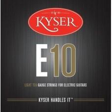 KYSER E10 струны для электрогитары, Light, 10-46, никель
