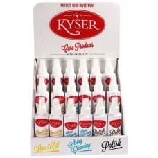 KYSER KDS318 дисплей из 18 стредств по уходу за гитарой