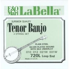 LA BELLA 720L - струны для тенор банджо