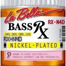 La Bella RX-N4-D - струны для бас-гитары, никель