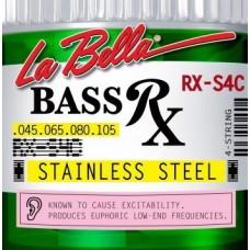 LA BELLA RX-S4C - струны для бас-гитары, 045-105