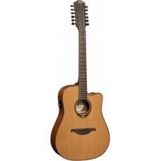 LAG T200D12CE - 12-ти струнная электроакустическая гитара