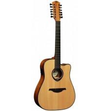 LAG T66D12CE - 12-ти струнная электроакустическая гитара
