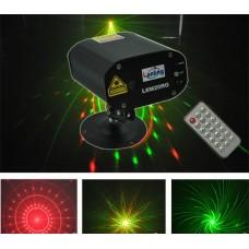 LANLING L6 M20 RG - мини-лазер, 4 гобо