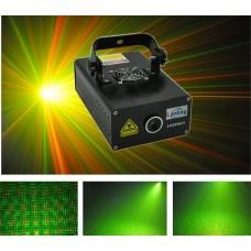 LANLING L628 RGY - трехцветный мерцающий лазер