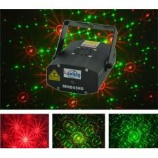 LANLING MNB 63 RG - мини-лазер, 6 гобо