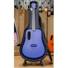 LAVA ME-2 BL FREEBOOST электроакустическая гитара, размер 3/4, карбоновый корпус Super AirSonic