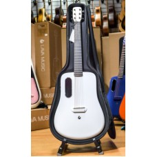 LAVA ME-2 WH акустическая гитара, размер 3/4, карбоновый корпус Super AirSonic с грифом FlyNeck