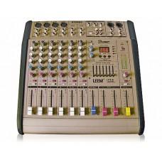 LEEM LFX-8 Микшерный пульт 8 канала 400 Вт