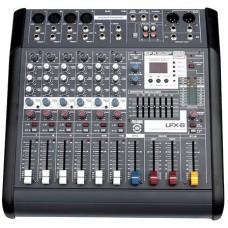 LEEM LFX-8MT Микшерный пульт 8 каналов, 400Вт, USB