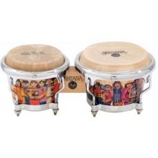 LP LPM200-AW Music Collection Santana Mini Tunable Bongos 4 1/2
