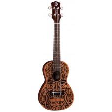 Luna UKE TRIBAL CONCERT - укулеле, концертное