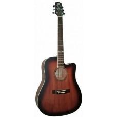 MADEIRA HW-700BR EA - электроакустическая гитара с эквалайзером и тюнером