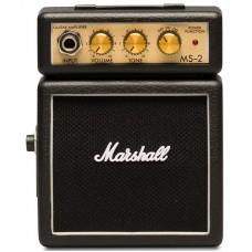 MARSHALL MS-2 MICRO AMP (BLACK) усилитель гитарный транзисторный, 1 Вт