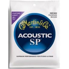 MARTIN MSP4050 - струны акустической гитары 11-52, фосфор/бронза