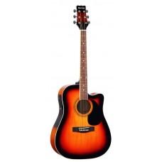 MARTINEZ FAW-702 CEQ VS - электроакустическая гитара