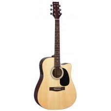 MARTINEZ FAW-801 CEQ - электроакустическая гитара