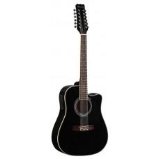 MARTINEZ FAW-802-12 CEQ B - двенадцатиструнная гитара с подключением