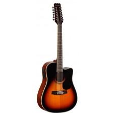 MARTINEZ FAW-802-12 CEQ TRS - двенадцатиструнная гитара с подключением