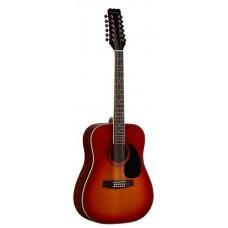 MARTINEZ FAW-802-12 TBS - двенадцатиструнная гитара