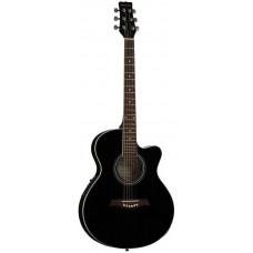 MARTINEZ SW-024 HC BK - электроакустическая гитара