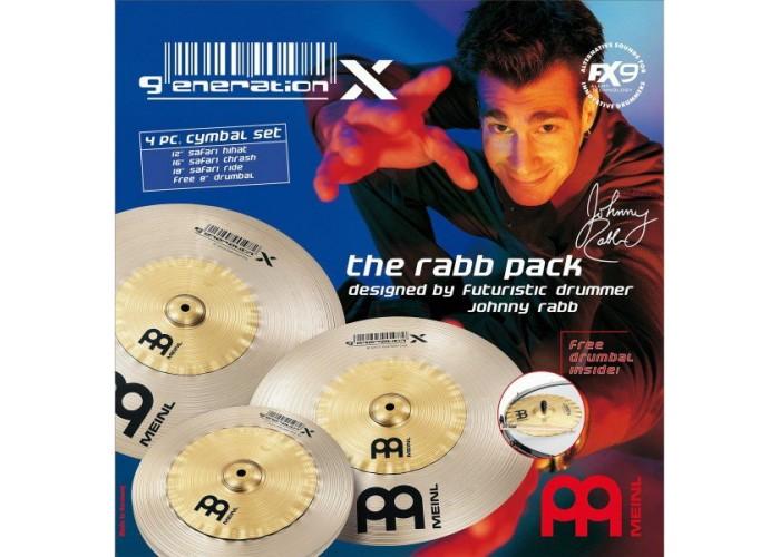 MEINL GX-12/16/18 - комплект эффект-тарелок: GX-18SR (Safari Ride), GX-16SC (Safari Crash), GX-12SH