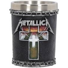 Metallica - Master of Puppets Shot Glass 7cm 5*5*7cm Сувенирная рюмка Metallica, лицензионная сувени